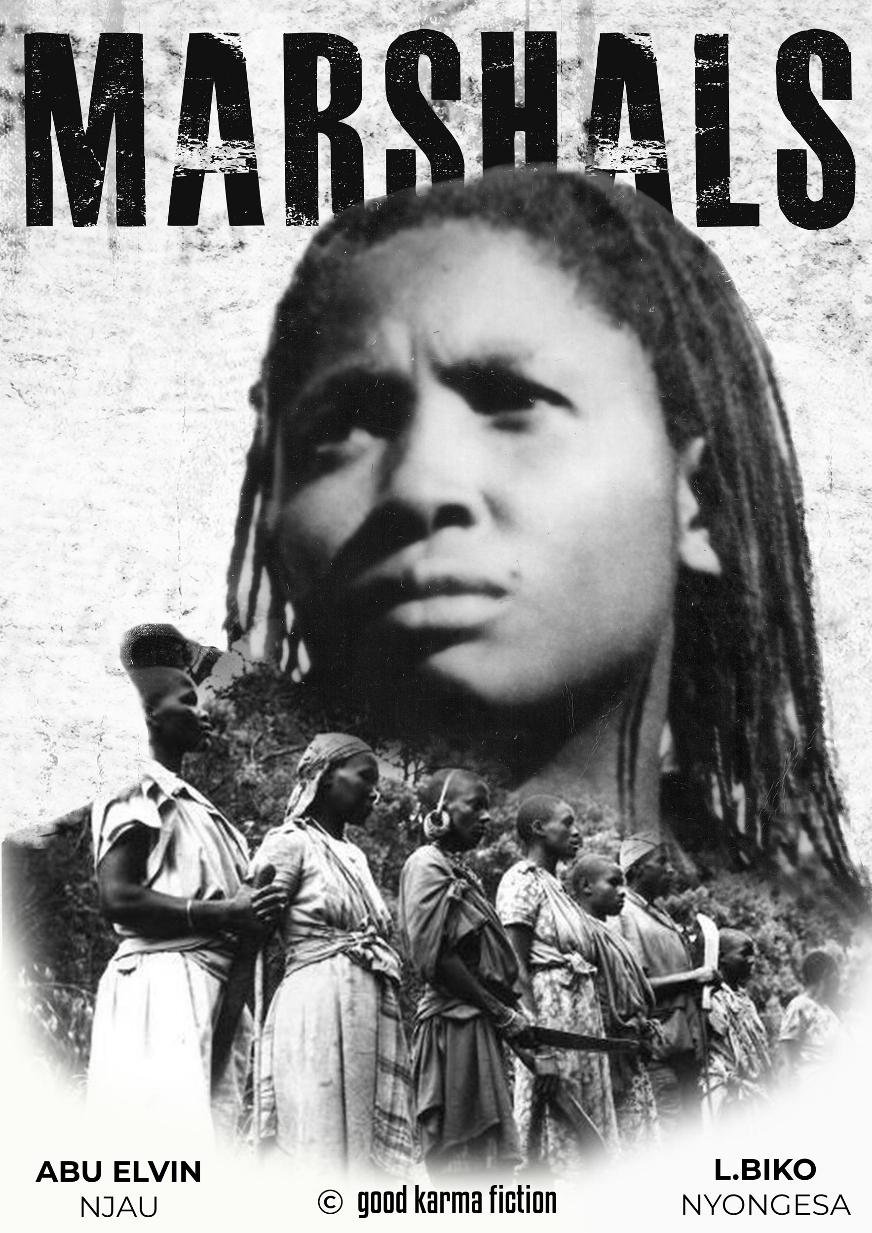 "<i  id=""iconinf1"" class=""fas fa-info"" aria-hidden=""true""></i><br> <h3>MARSHALS</h3><br><p> Kenya, 1956. A teenage girl is forced to flee into the unforgiving Abadare's forest after colonial authorities subdue her village, but until she meets a skilled and vengeful field marshal, her family will never know freedom … <br><br><b>-Feature Film, 90 Min., Cinema-<BR> In Financing</b></p>"